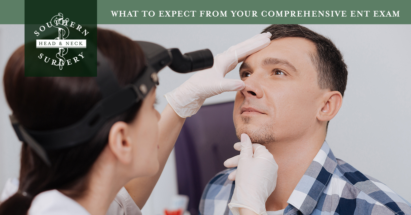 Read more about the article What to Expect from Your Comprehensive ENT Exam